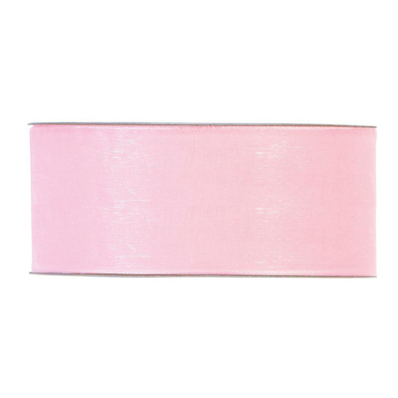 Organza brillante mm40x50mt pink
