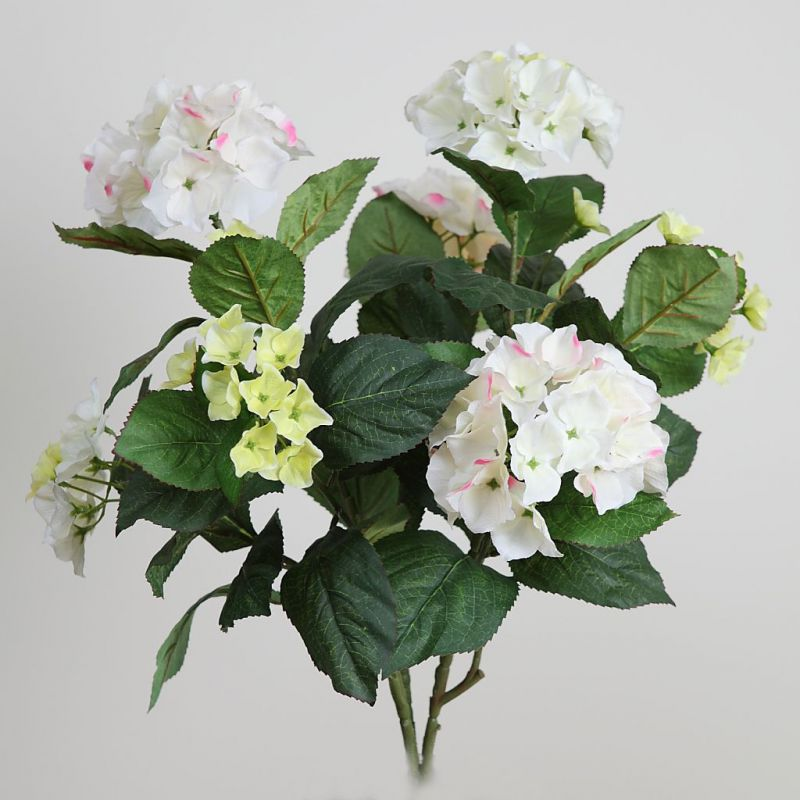 MATA HORTENSIA ARTIFICIAL 60CM color rosa