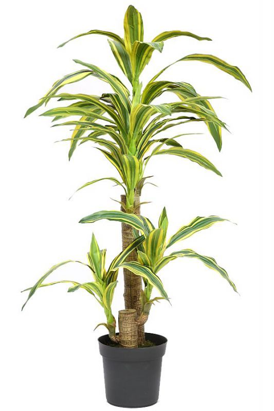 PLANTA YUCA ARTIFICIAL TACTO NATURAL ALT 110CM