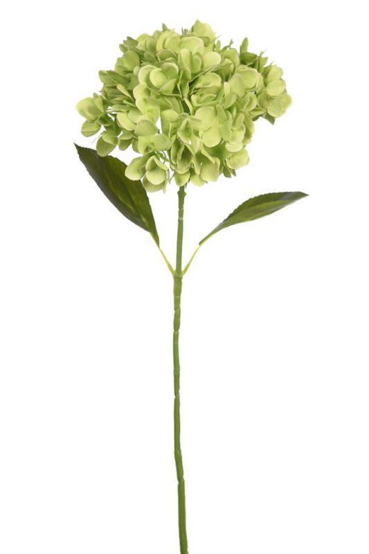 VARA HORTENSIA ARTIFICIAL ALT 68CM COLOR VERDE