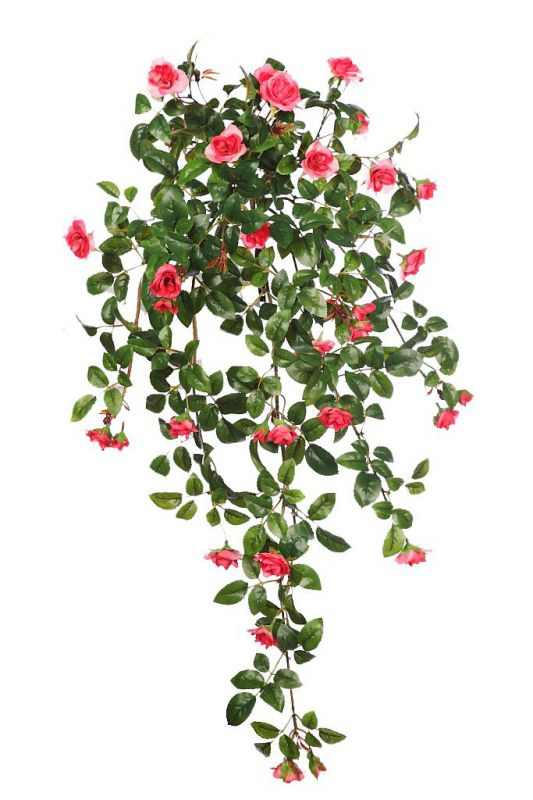 ROSAL MINI COLGANTE ARTIFICIAL 75 CM