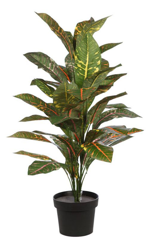 CROTON ARTIFICIAL X 3, 86,4CM EN MACETA