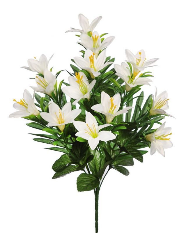 RAMO FRONTAL LILIUMS 46 CM BLANCO