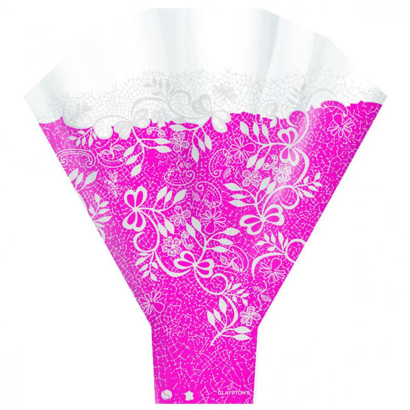Cono bouquet COUTURE. Color: fucsia (paquetes de 50 ud)