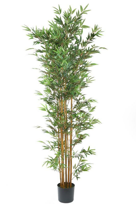 BAMBU ARTIFICIAL EN MACETA 210CM ALT