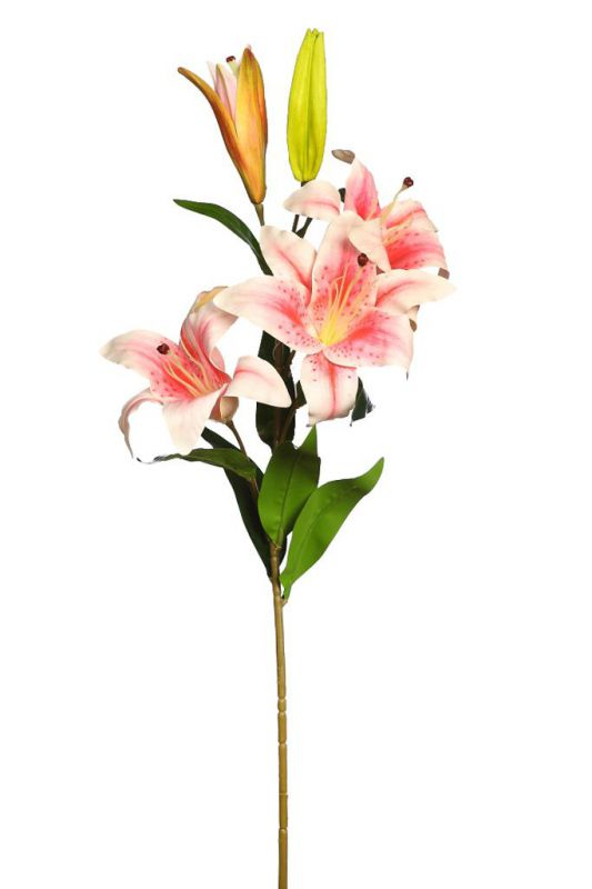 VARA DE LILIUM ARTIFICIAL 98CM color rosa