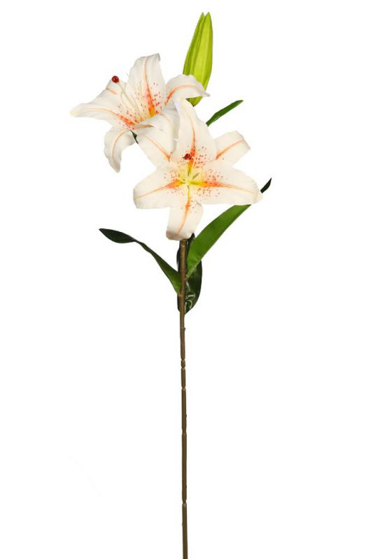 VARA LILIUM ARTIFICIAL 84CM color naranja