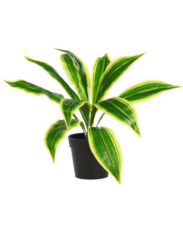 MACETA DE DRACENA ARTIFICIAL 40CM