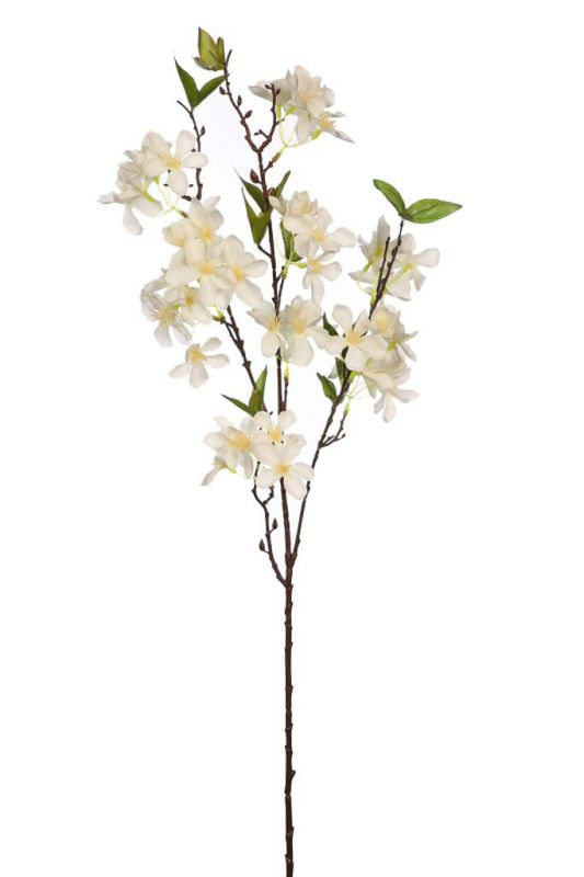 Vara de almendro artificial 90cm color blanco